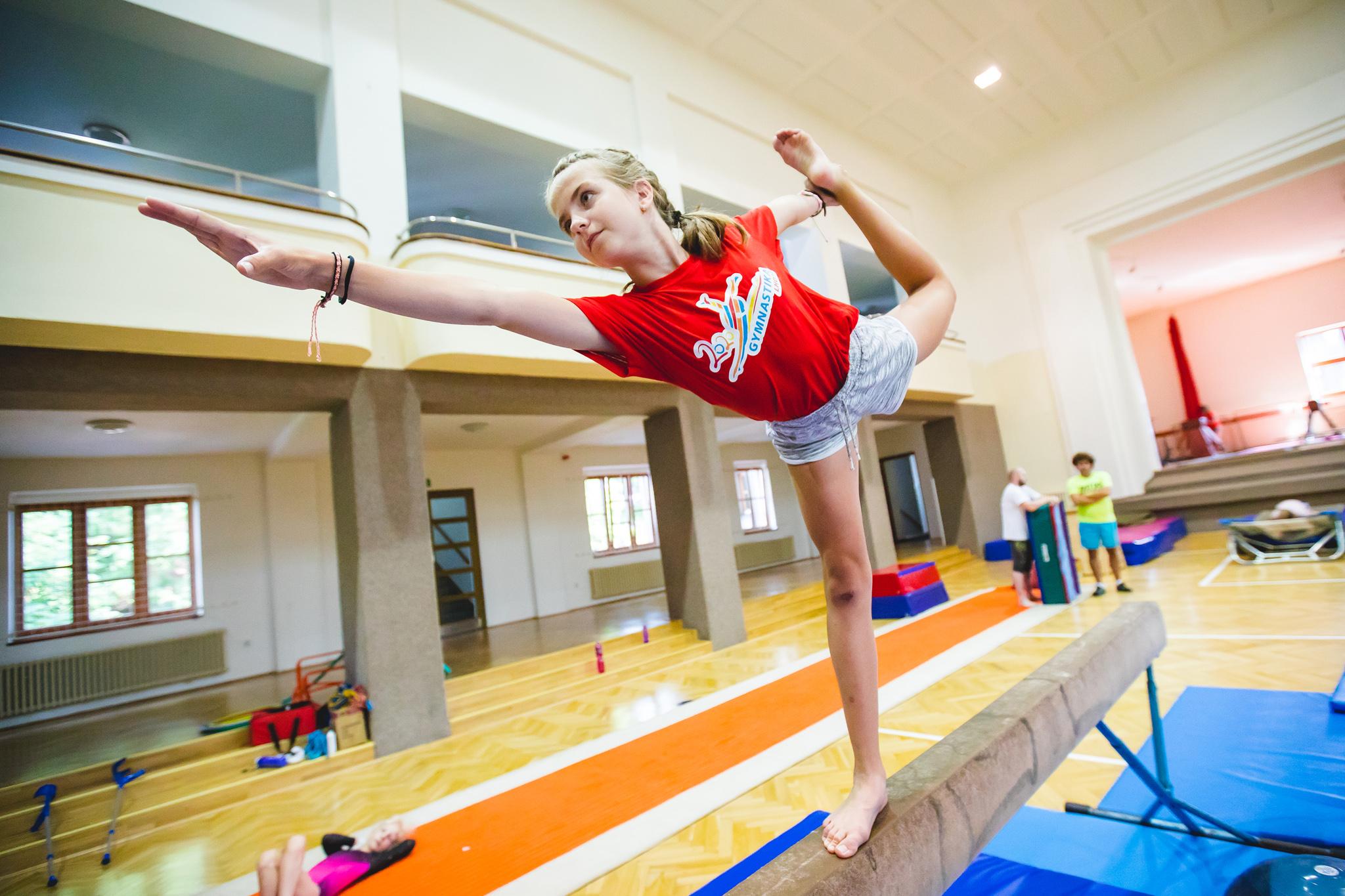 Kemp gymnastiky 2020